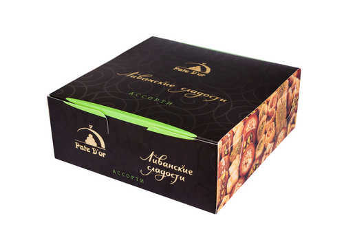 "Pate D'or Пахлава - ассорти ливанских сладостей ""Mix"", 1000 г import_files_6f_6f5dd3b2787e11e799f3606c664b1de1_860485bfdb2811e79eb4fcaa1488e48f.jpg"
