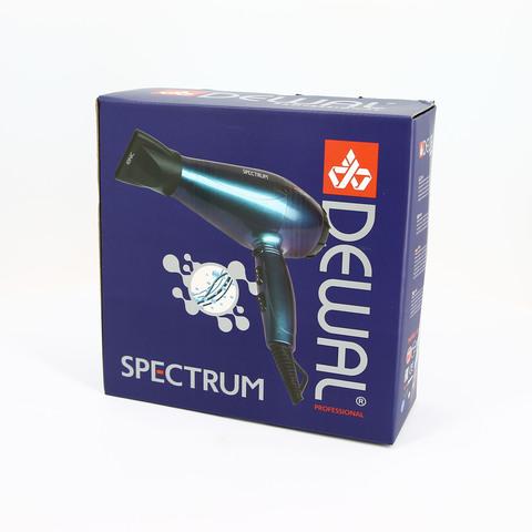 Фен Dewal Spectrum , 2200 Вт, ионизация, 2 насадки, бирюзовый
