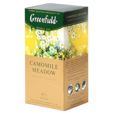 Чай GREENFIELD Травяной Camomile Meadow 25*1,5 гр п/пак РОССИЯ