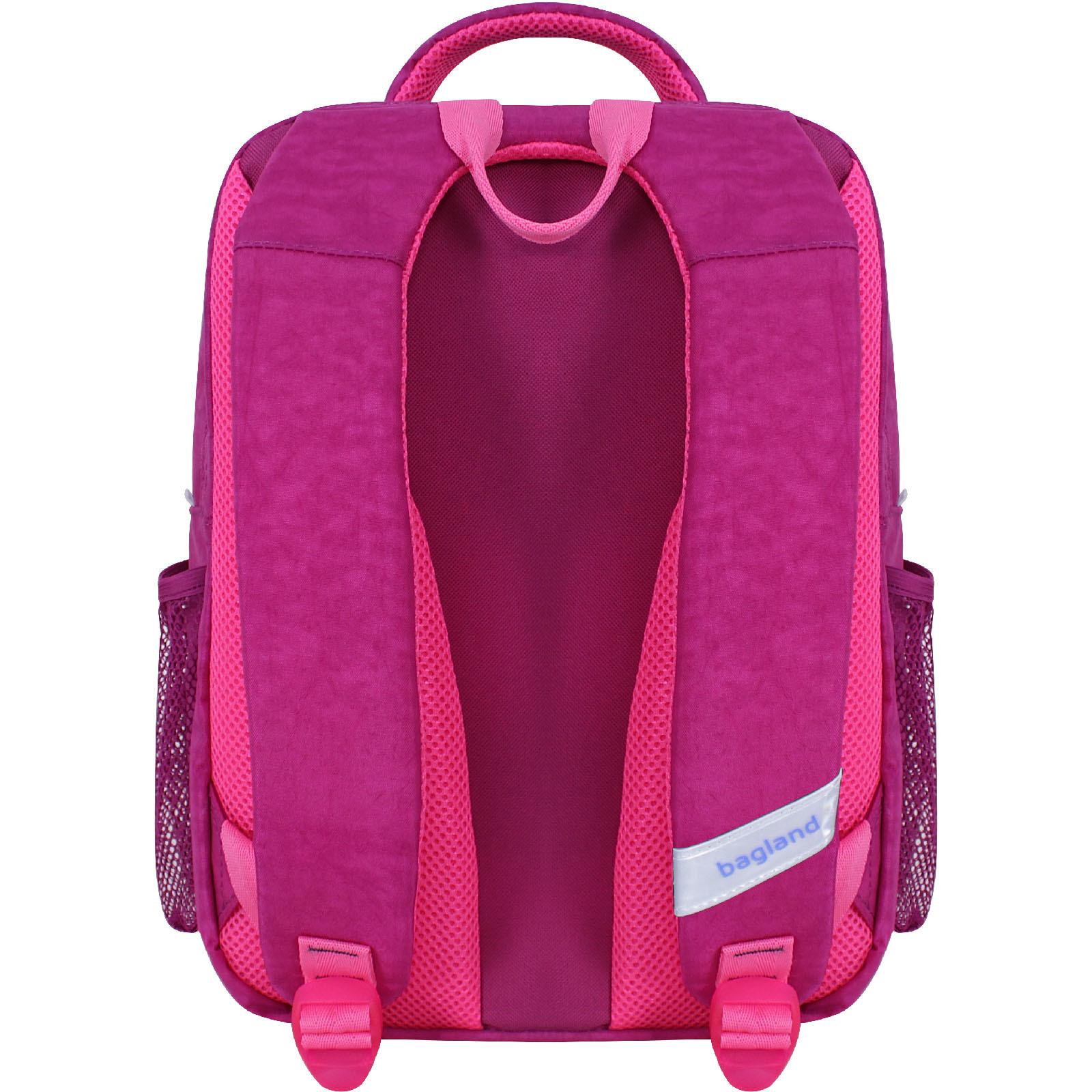 Рюкзак школьный Bagland Школьник 8 л. малиновый 888 (0012870)