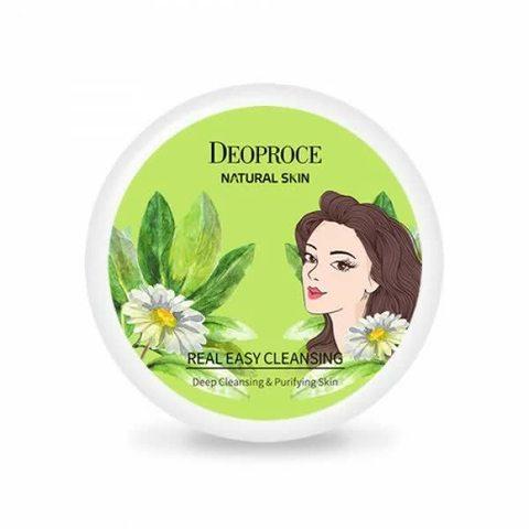 Deoproce Natural Skin Real Easy Cleansing крем для лица очищающий