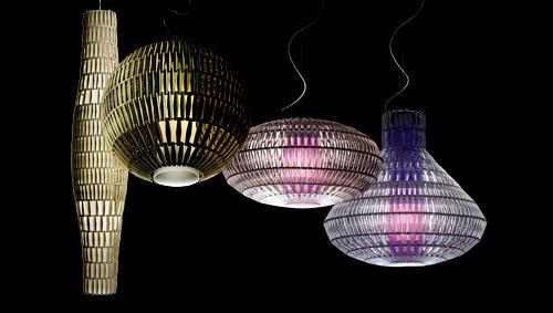 Подвесной светильник копия Tropico Ellipse by Foscarini (прозрачный)
