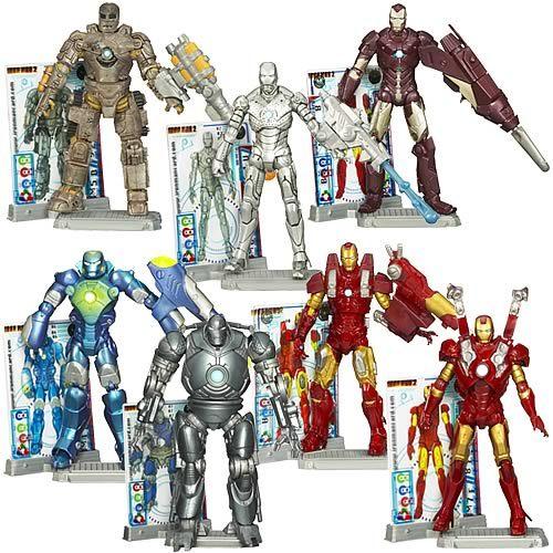 Iron Man 2 Movie Action Figures Wave 1