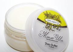 Косметическое масло ШИ/ Shea Butter Unrefined/ баттер, нерафинированное/ 80 гр