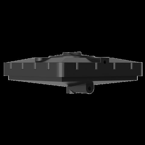 Бак для душа Aquatech 240 (черный) (950х950х400)