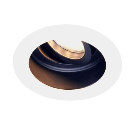 Встраиваемый поворотный светильник Ambrella TN176 WH/BK белый/черный GU5.3