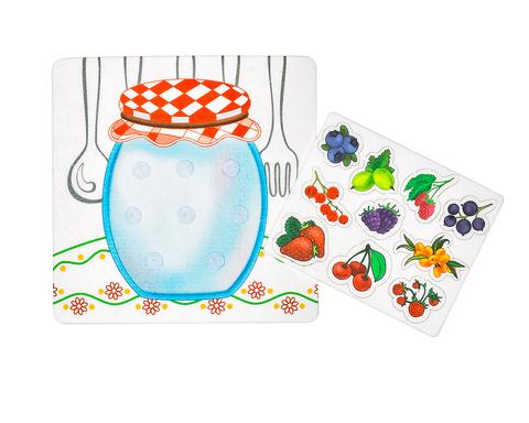 Игровой набор из фетра Ягодное варенье, Smile decor