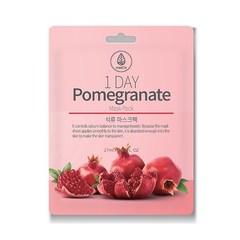 MED B 1 DAY Тканевая маска с Гранатом Pomegranate Mask Pack, 27ml