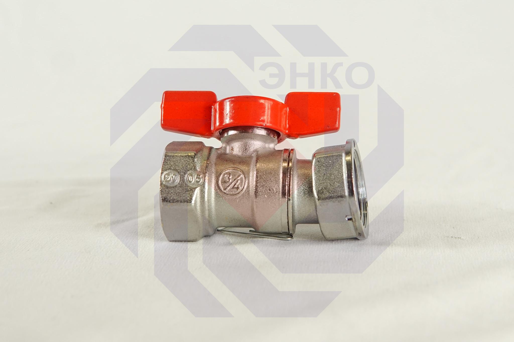 Кран шаровой с разборным присоединением ВР/ВР GIACOMINI R251P ¾