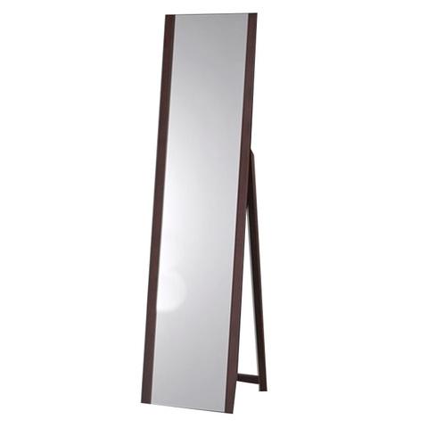 Зеркало напольное MS-9078-W темный орех