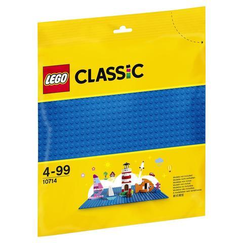 LEGO Classic: Базовая строительная пластина синего цвета 10714 — Blue Baseplate — Лего Классик