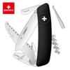 Швейцарский нож SWIZA TT05 Tick Tool, 95 мм, 12 функций, черный