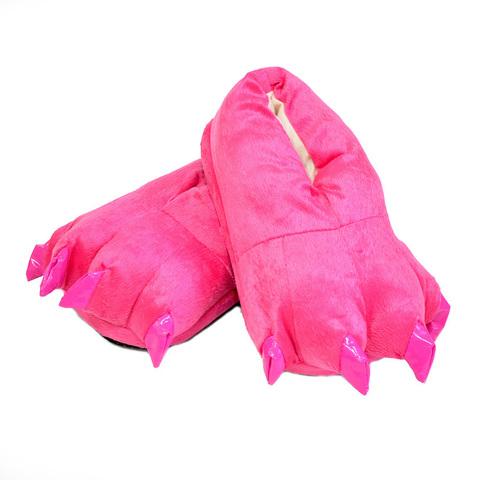 Тапочки царапки розовые