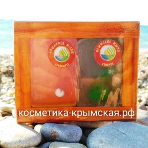 Набор мыло ручной работы «Грейпфрут+Хвойное»™Фитон-Крым
