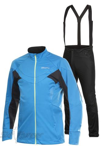 Лыжный костюм Craft High Performance Set мужской синий