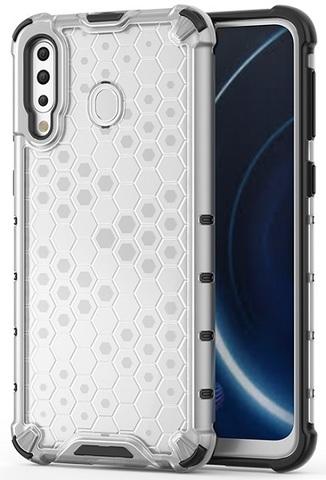 Прозрачный чехол для Samsung Galaxy A40S и Galaxy M30 ударопрочный от Caseport, серия Honey