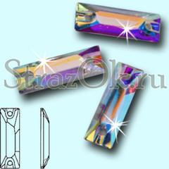 Купить пришивные стразы оптом из Resin Cosmic Baguette Crystal AB