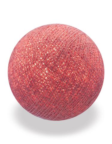 Хлопковый шарик пыльная роза