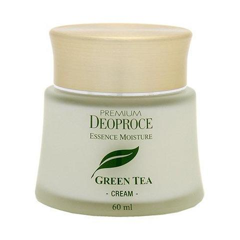 Deoproce Premium Green Tea Total Solution Cream крем c экстрактом зеленого чая