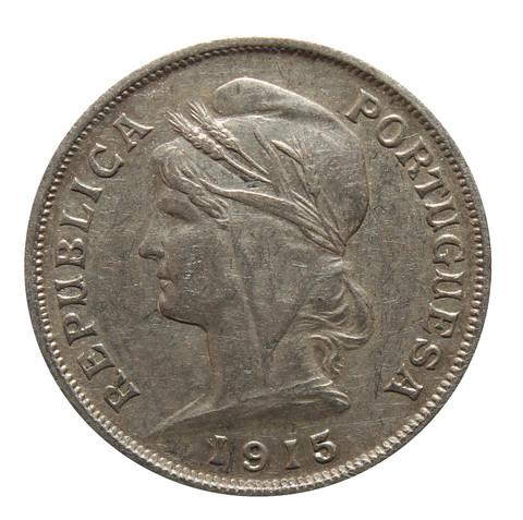 10 сентаво. Португалия.  1915 год. XF