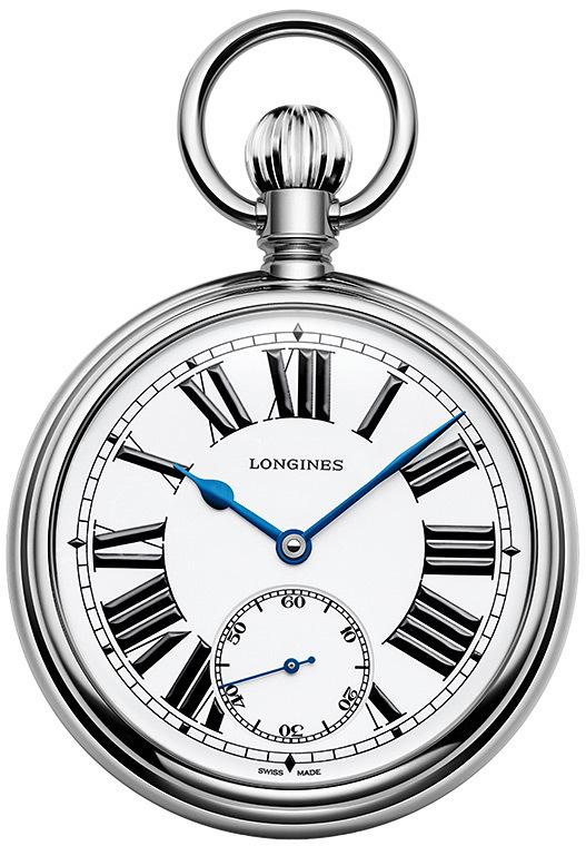The Longines Rail Road Pocket Watch