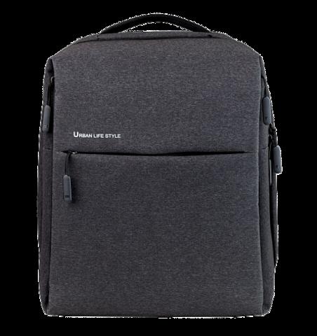 Рюкзак Xiaomi Mi City, темно-серый, 39х30х14 см (X15936)