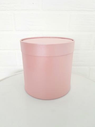 Коробка для цветов (цвет пудра)