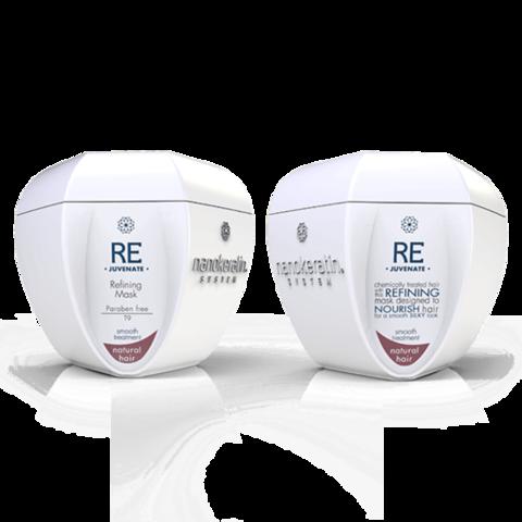 Oчищающая маска для осветленных волос Refining Mask Nanokeratin System, 500 мл.