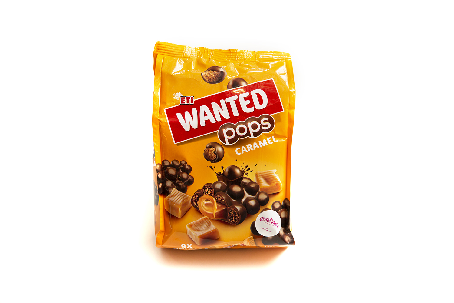 Мини батончики WANTED POPS CARAMEL MINI