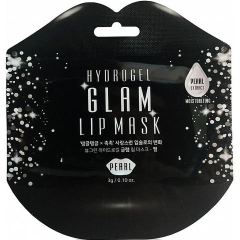 Beauugreen Hydrogel Glam Lip Mask Pearl гидрогелевые патчи для губ с жемчугом
