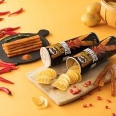 Чипсы Pringles раки под сычуаньским соусом Китай 110 гр