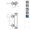 Смеситель термостатический для душа RS CROSS 623402S - фото №2