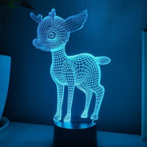 Ночной светильник Бэмби