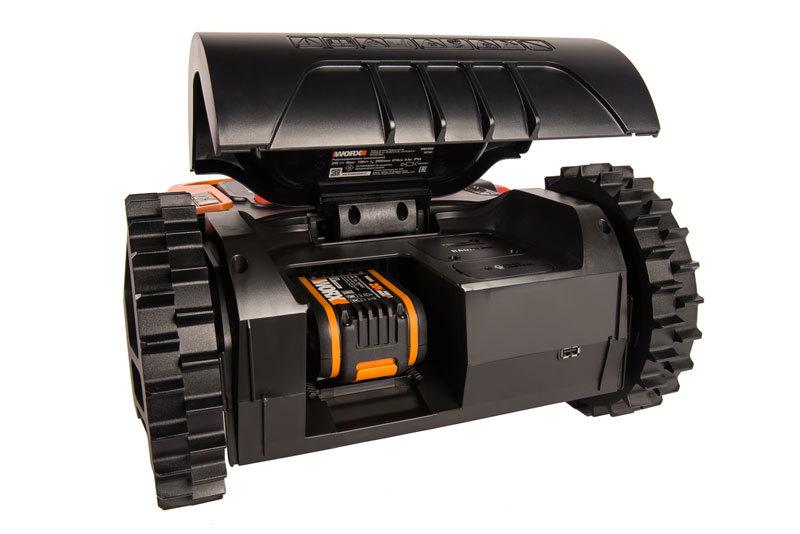 Роботизированная газонокосилка Worx Landroid M WR141E 500м²