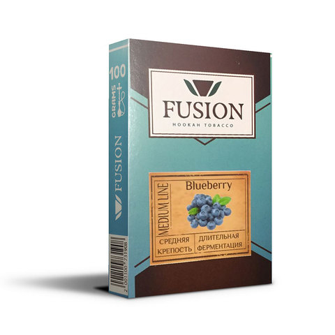 Табак Fusion Medium Blueberry 100 г