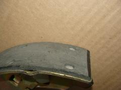 Колодка тормозная 3163,2363 зад. длин. правая (РК DYMOS) ТИИР-420
