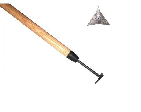 Треугольный очиститель дорожек DeWit рукоятка из ясеня 1400мм