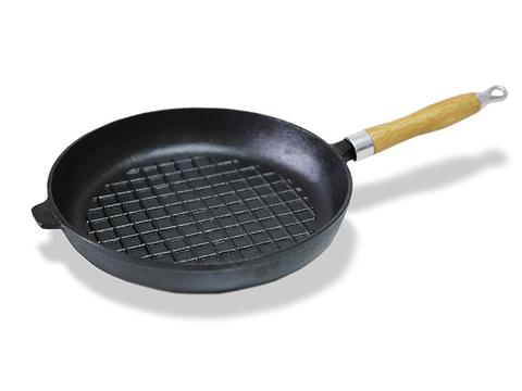4096 FISSMAN Сковорода чугунная 27 см