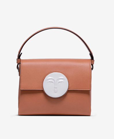 Сумка FLAP MOON BAG camel