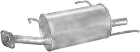 глушитель Nissan Almera sedan 1,4i  1,6i  95-00