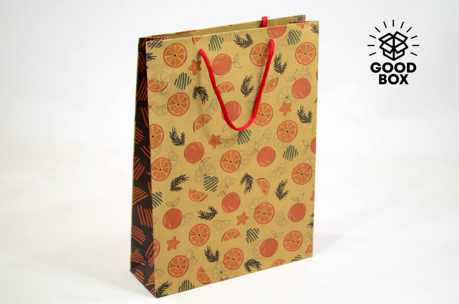 Новогодние подарочные пакеты в Алматы