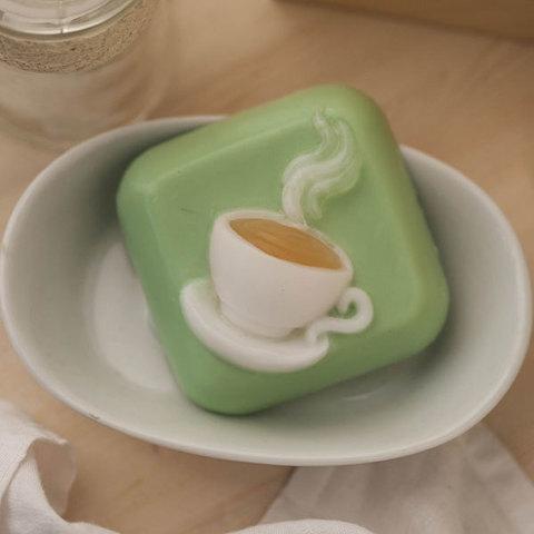 Мыло Горячая чашка. Пластиковая форма