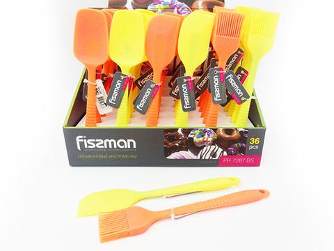 7287 FISSMAN Кисточка, лопатка, ложка кондитерская (на выбор) 1 шт / 20 см,  купить