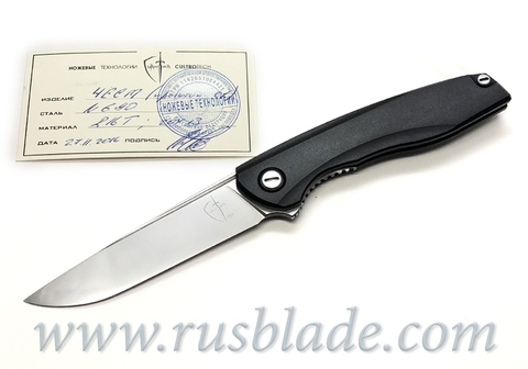 Chest N690 Prototype knife by CultroTech Knives