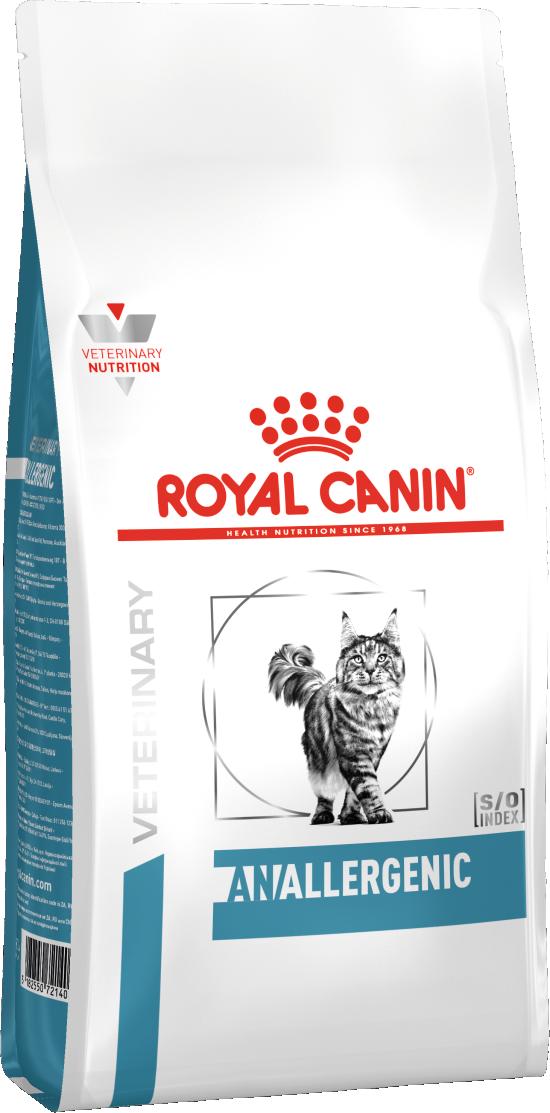 Сухой корм Корм для кошек, Royal Canin Anallergenic AN 24 Feline, с тяжелой формой пищевой аллергии/непереносимости 756020.png
