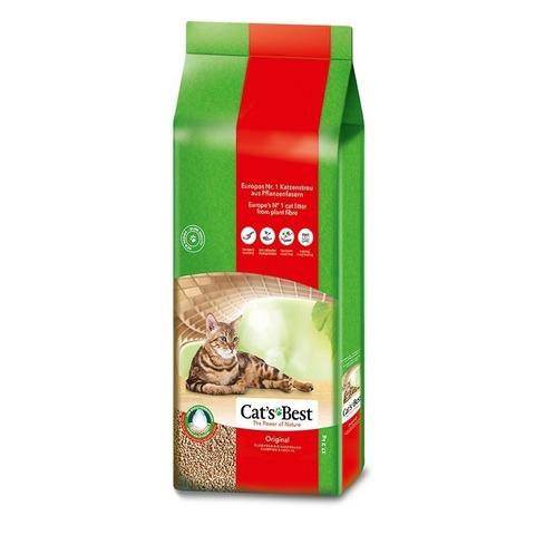 Cat's Best Original Наполнитель древесный комкующийся - 20 литров