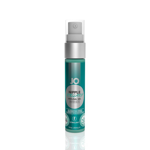 JO Nipple Titillator Winter Mint, 30 ml Ароматный стимулирующий гель для сосков Зимняя Свежесть