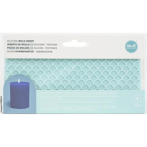 Силиконовый молд (трафарет) для изготовления свечей, мыла, фигурок из гипса SUDS Soap Maker Mold Wrap by We R Memory Keepers - Scallop