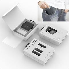 Набор беспроводных петличных микрофонов для iPhone с кейсом для зарядки и хранения