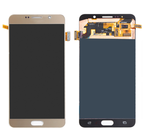 LCD SAMSUNG Note 5 N920F + Touch Gold OLED